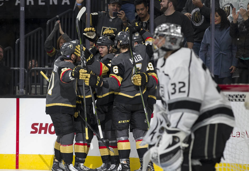 Golden Knights Ready For Kings In Playoffs – Jaguar Post